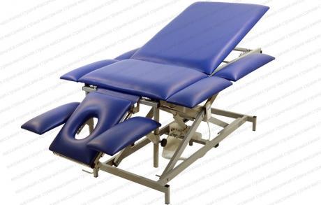 Массажный стол Профи 4.1 на Х раме с электроприводом